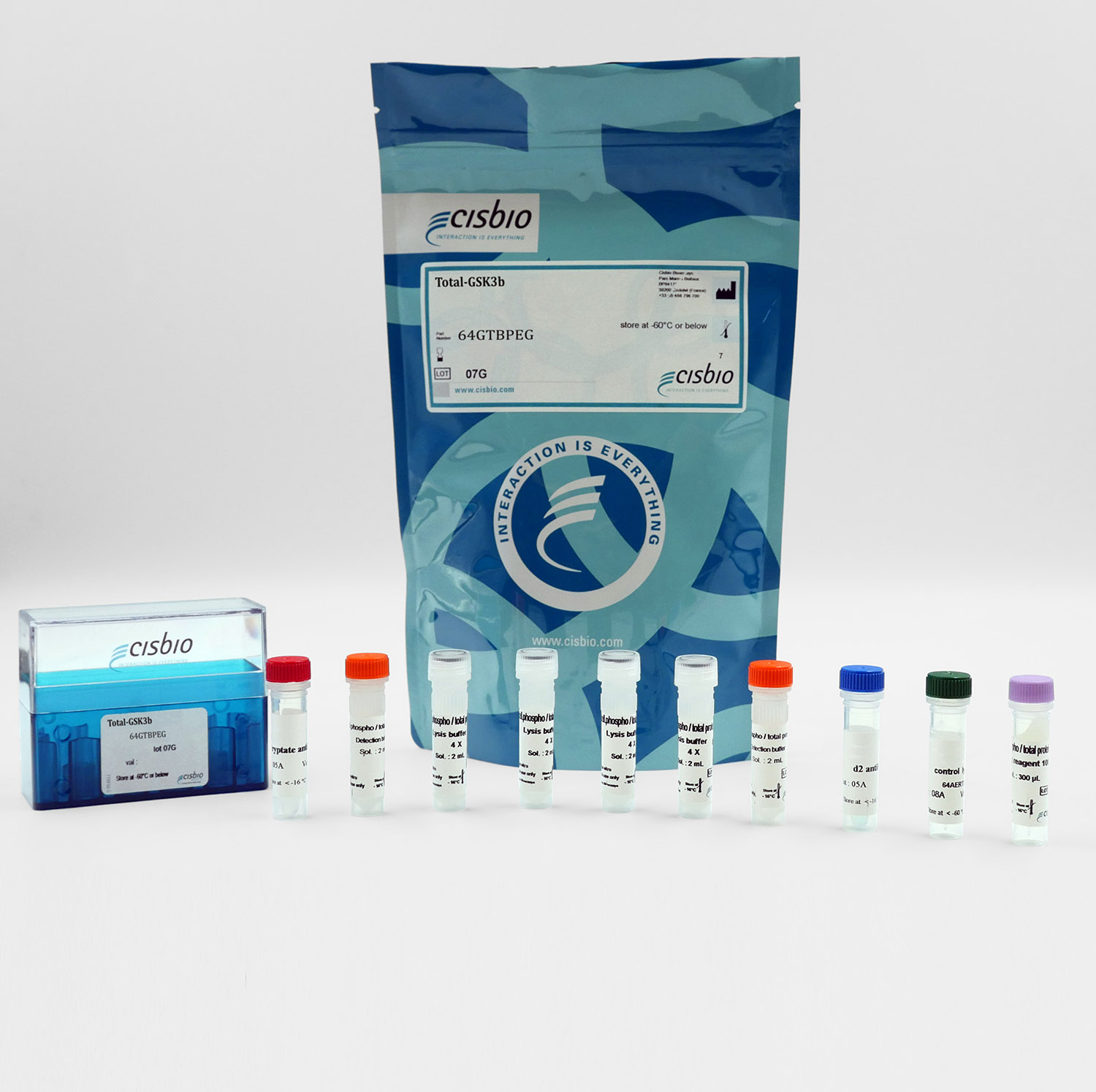 Total GSK3 beta cellular kit I Cisbio