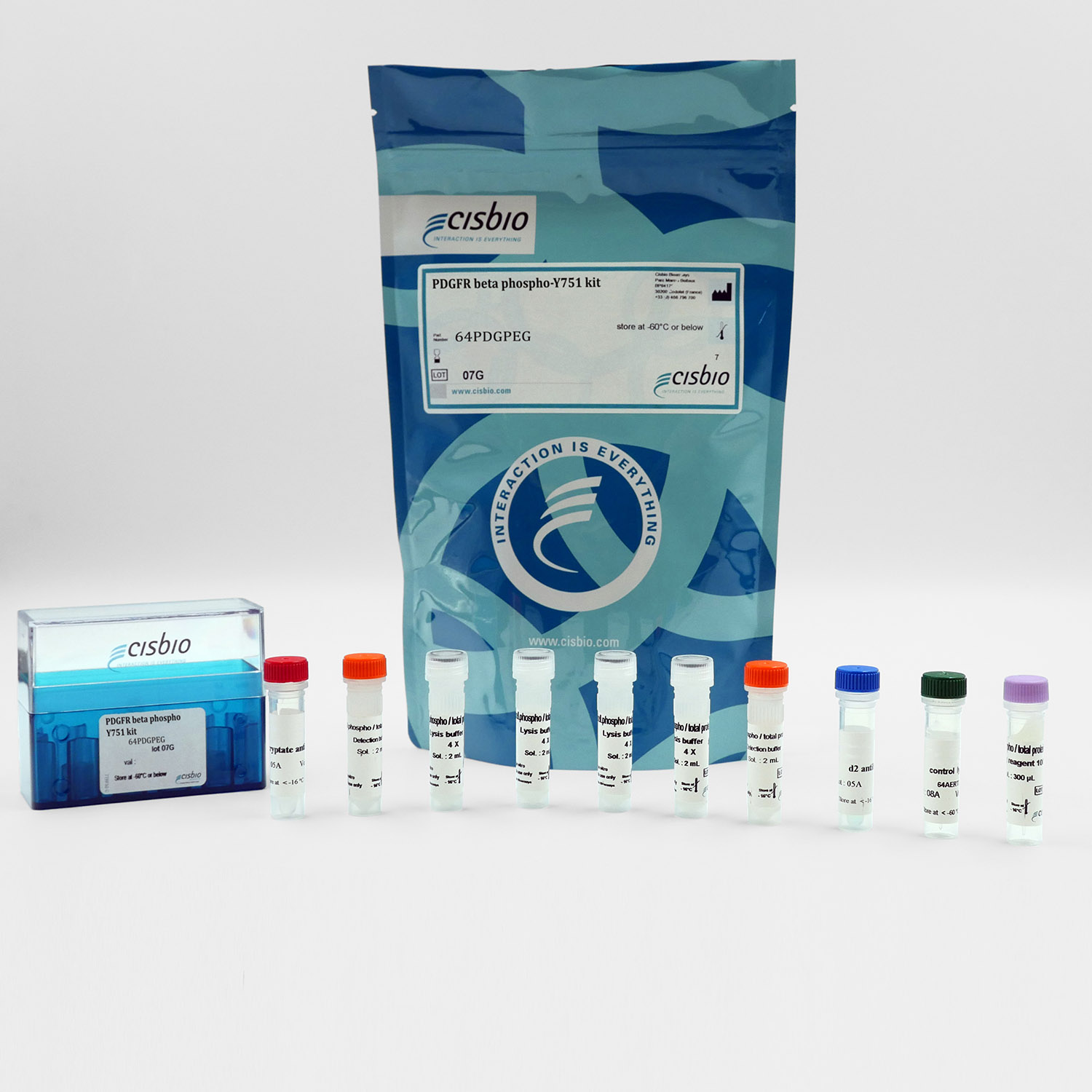 Phospho-PDGFR beta (Tyr751) cellular kit